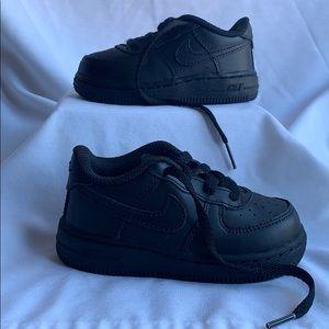 Kids Nike Black Air Force 1 (AF-1)